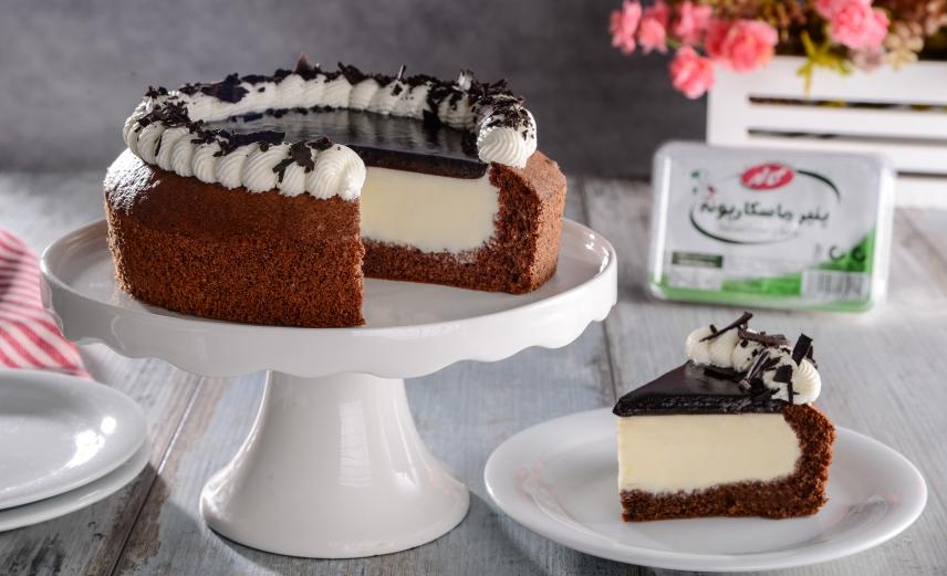 چیز کیک ژلاتینی